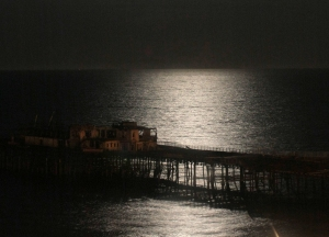 Pier by Moonlight by Gemma Shaw
